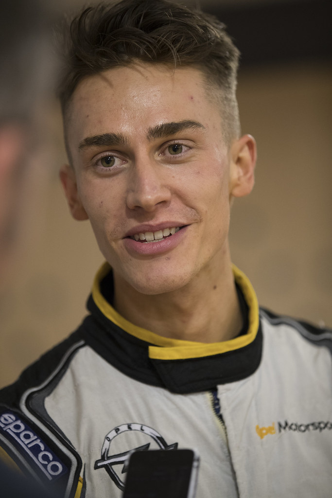 Ingram Chris, Opel Rallye Junior Team, Opel Adam R2 ERC Junior U27 ambiance portrait during the 2017 European Rally Championship ERC Liepaja rally,  from october 6 to 8, at Liepaja, Lettonie - Photo Gregory Lenormand / DPPI