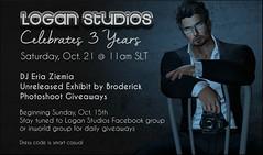 Logan Studios Celebrates 3 Years