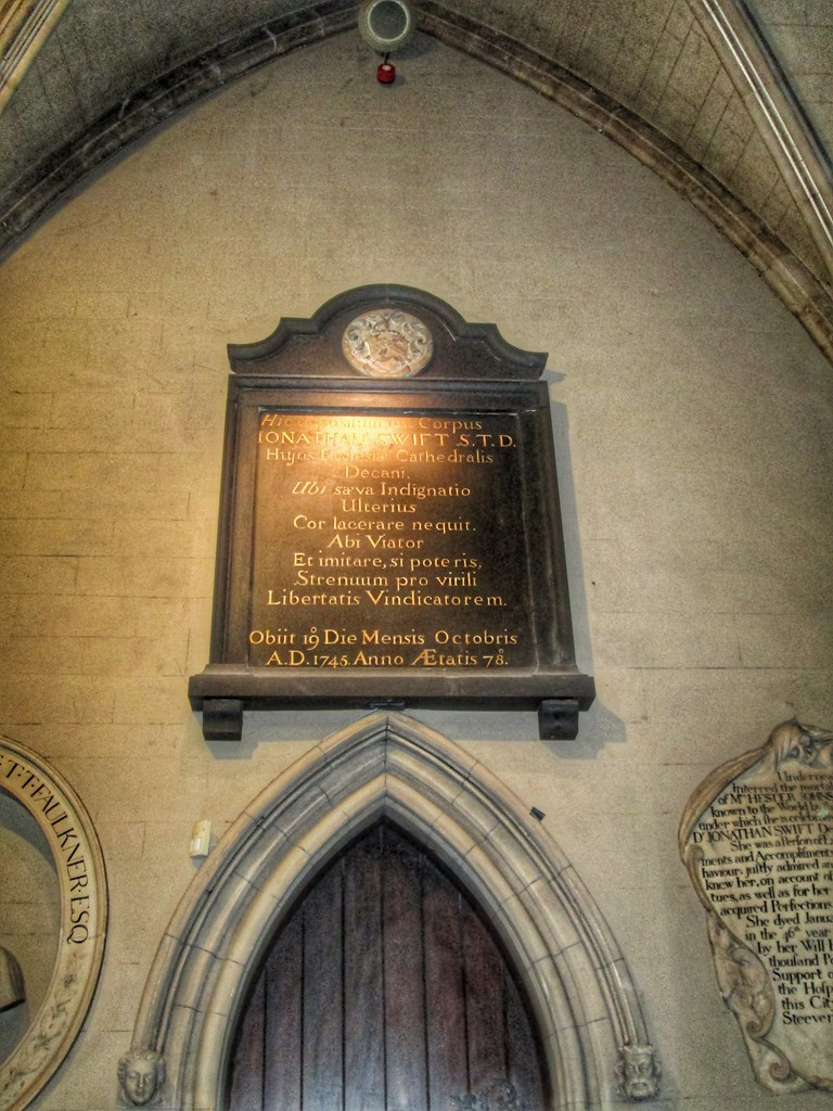 St Patricks Cathedral Dublin Jonathan swift
