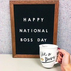 Happy National Boss Day! ✨ We are incredibly grateful and...