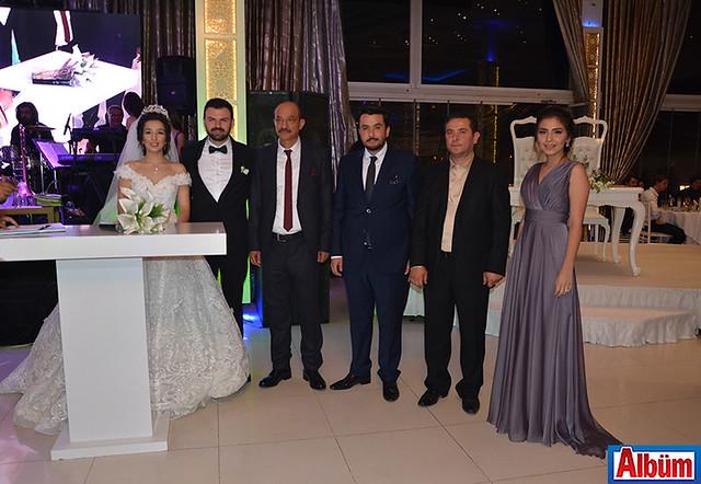 Büşra Elçi, Ali İhsan Babaoğlu ve nikah şahitleri