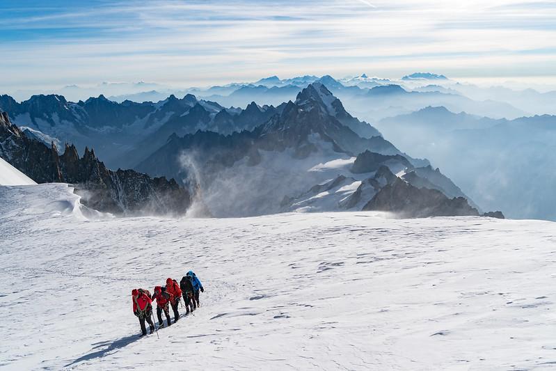Grand Paradiso en Mont Blanc Hoogalpiene beklimming