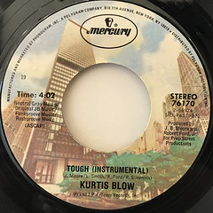 KURTIS BLOW:TOUGH(LABEL SIDE-B)