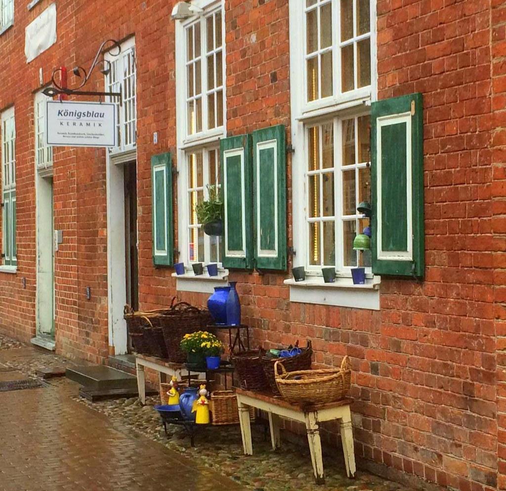 Potsdam has a photogenic Dutch Quarter