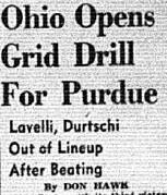 Ohio Opens Grid Drill