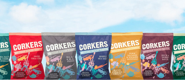 Win a Taster Box of Corkers Crisps
