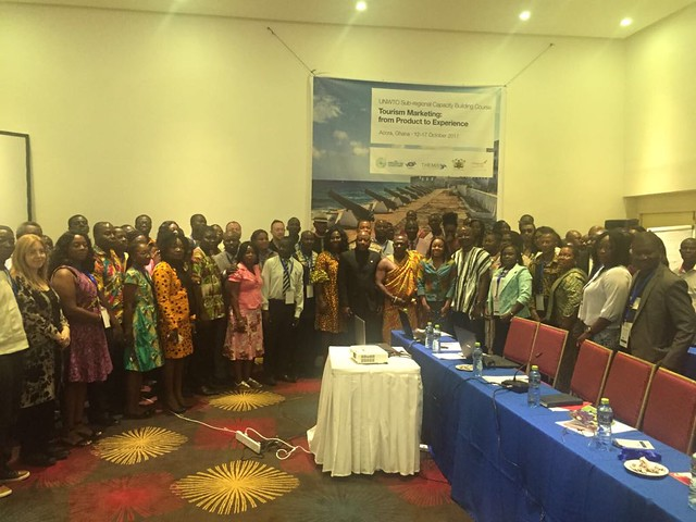 UNWTO Sub-regional Capacity Building Course in Ghana on Tourism Marketing: from product to experience, 12-17 October, Accra, Ghana