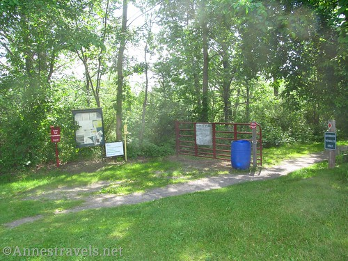 The Dresden Trailhead of the Keuka Outlet Trail, New York