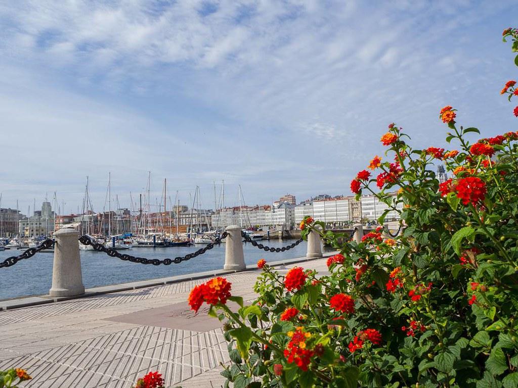 Una vista distinta de La Marina. #Coruña #photography #olympusomd #marina