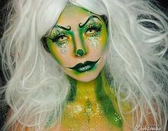 Awsome Halloween Makeup  Makeup by @dehsonae