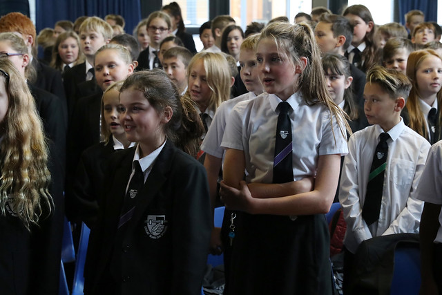 GMS Year 7 The 'Gig' concert 2017