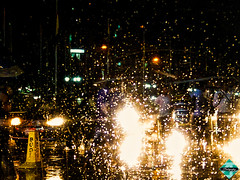Bustle Under Rain