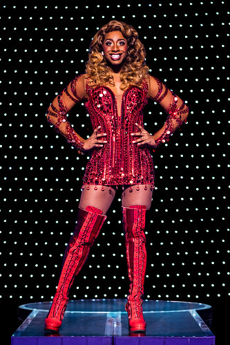 Jos N. Banks as Lola. Kinky Boots: You change the world when you change your mind!