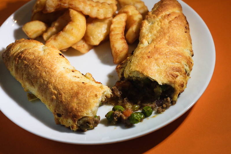 Easy Cornish Pasty rolls recipe