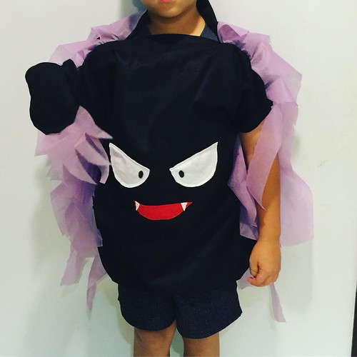 Gastly Costume