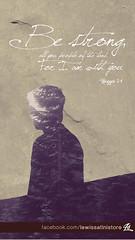 Haggai 2:4 - Be Strong