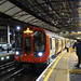 RD16180.  London Underground S7 stock at Farringdon.