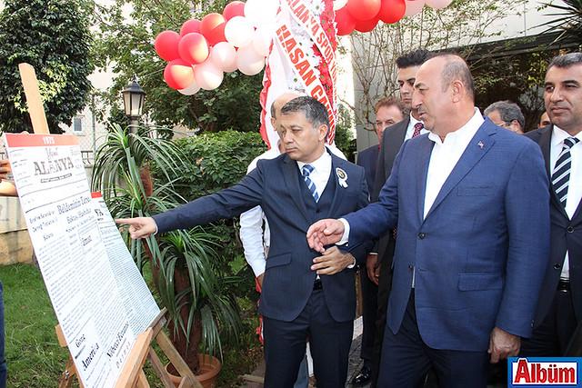 Mehmet Ali Dim, Dışişleri Bakanı Mevlüt Çavuşoğlu