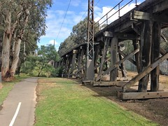 Eltham Rail Trestle Bridge