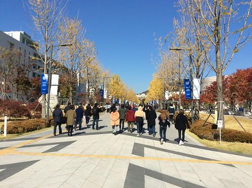 Visite partenaires coréens et japonais