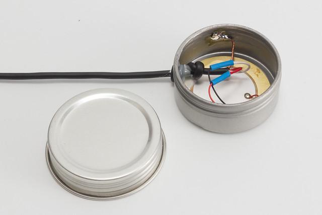 Contact Mic in a Tin