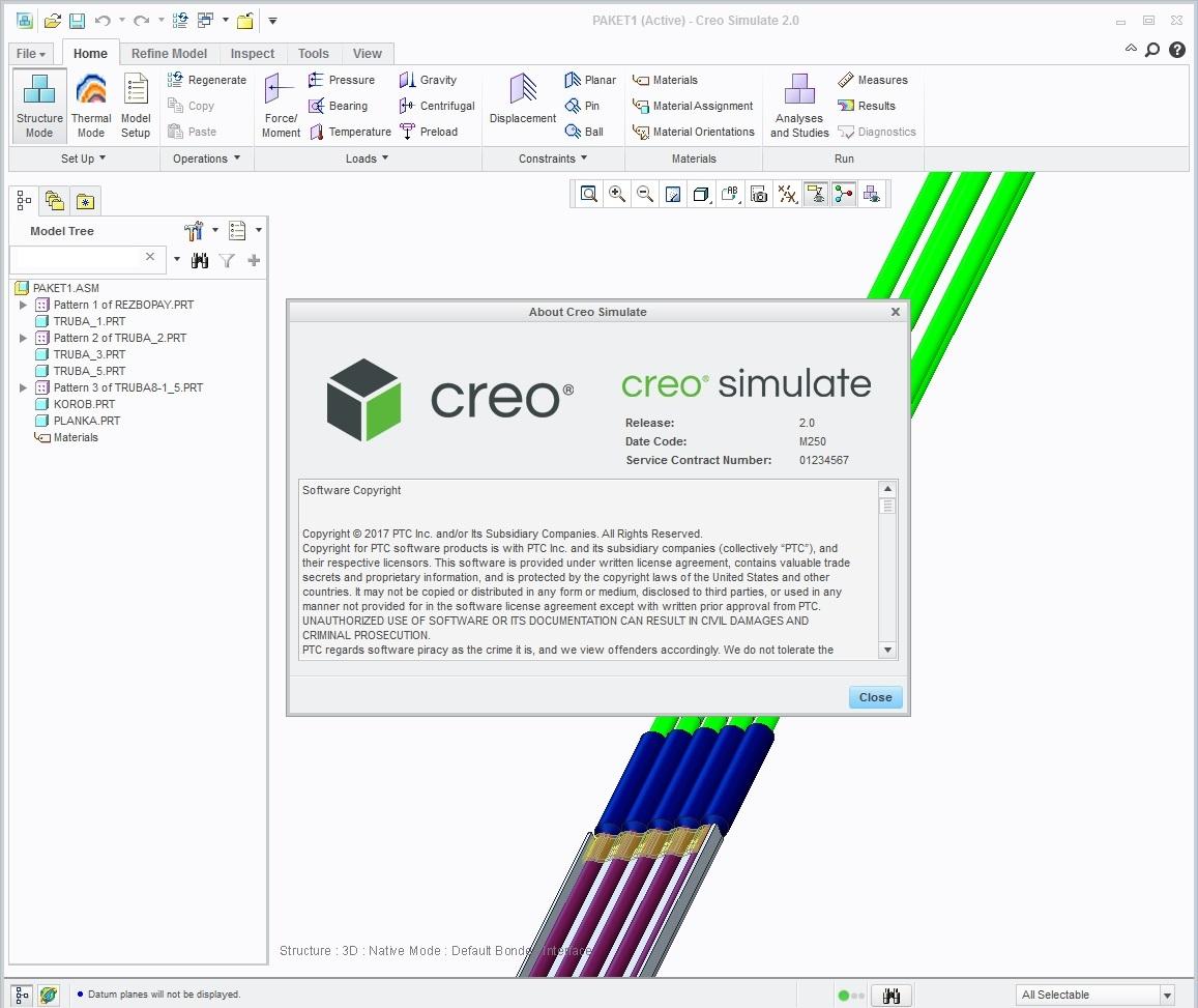 Working with PTC Creo Simulate 2.0 M250 full license