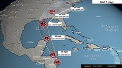 Tropical Storm Nate kills 20 in Central America as it heads toward US