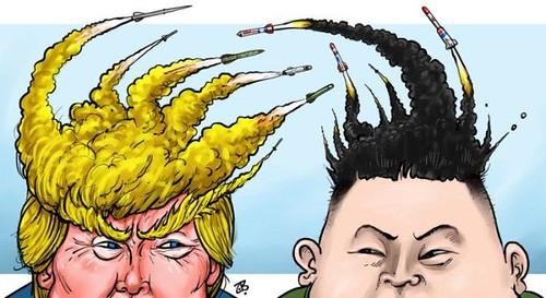trump kim warheads