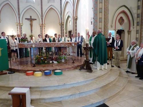 Célébration de rentrée en ensemble pastoral 08/10/2017