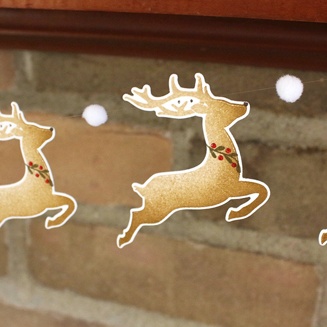 Reindeer Garland 3