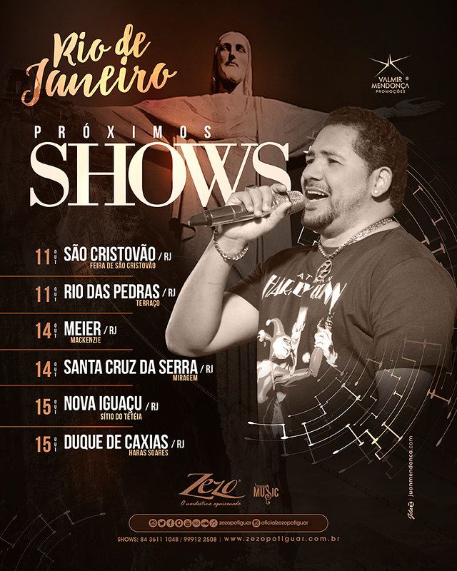 Zezo - Tour RJ - Out. 2017 - Semana 02-01