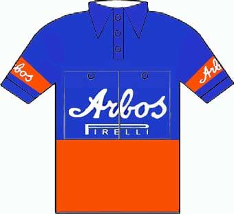 Arbos Pirelli - Giro d'Italia 1952