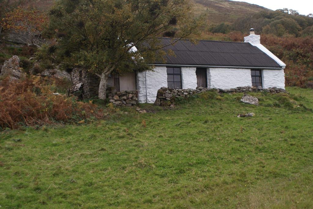 Maison de l'île d'Arran.