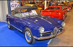 """Alfa Romeo Giulietta spider """" passo corto """" (1959)"""