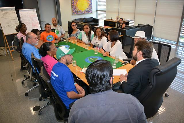Reunião com o Movimento Nacional dos Catadores de Materiais Recicláveis