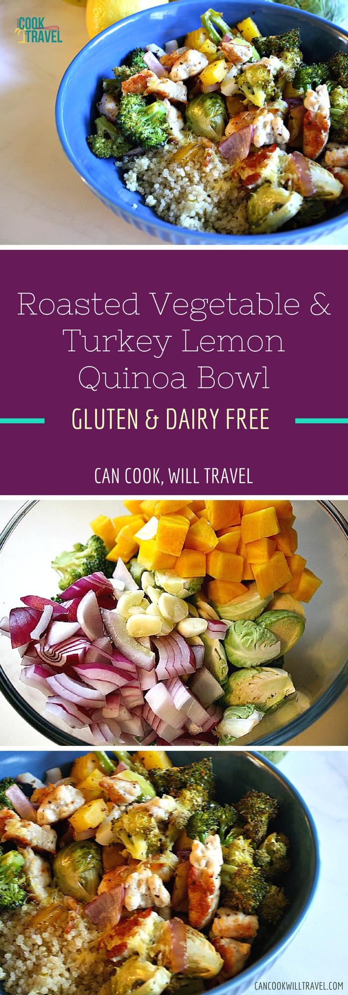 Roasted Veg & Turkey Lemon Quinoa Bowl_Collage2