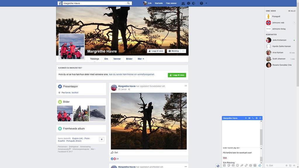 margrethe havre facebook 1