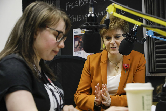 First Minister is interviewed on SAM radio
