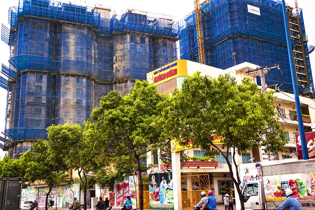 Highrise under construction--Saigon 2