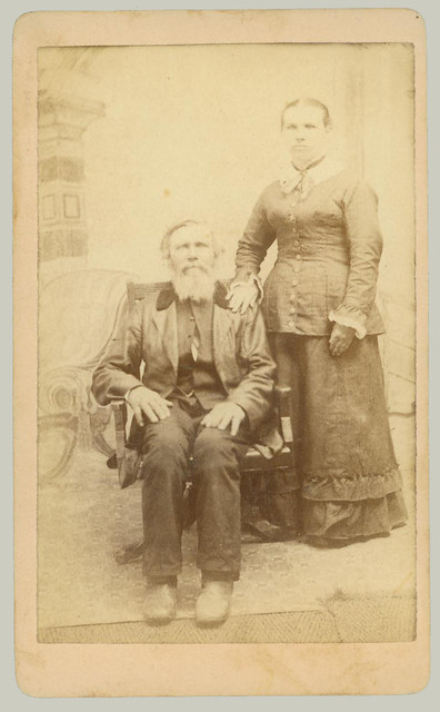 CDV portrait of a pair