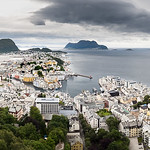 Aksla viewpoint, Alesund, Norway