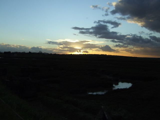Sunset at Wallasea Island