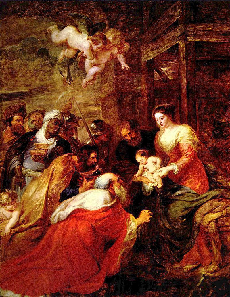Adoration of the Magi by Peter Paul Rubens, 1617