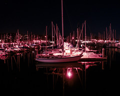 Monterey Wharf at Night