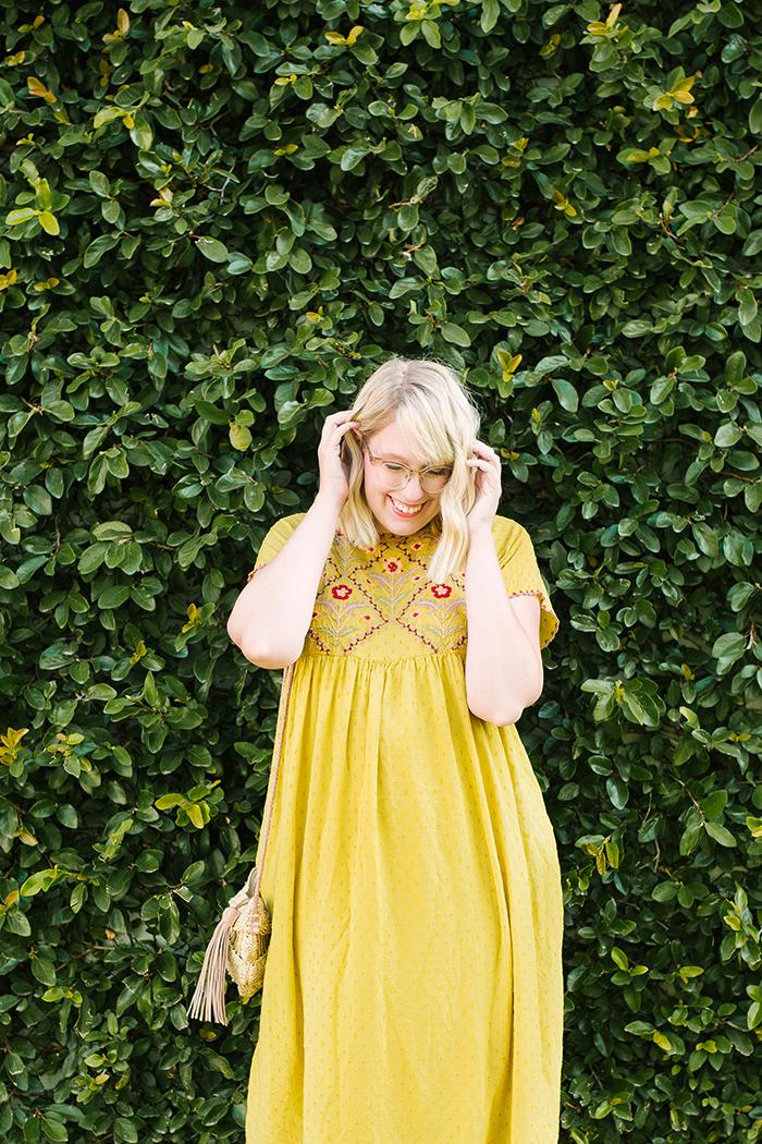 austin fashion blogger writes like a girl yellow zara dress9