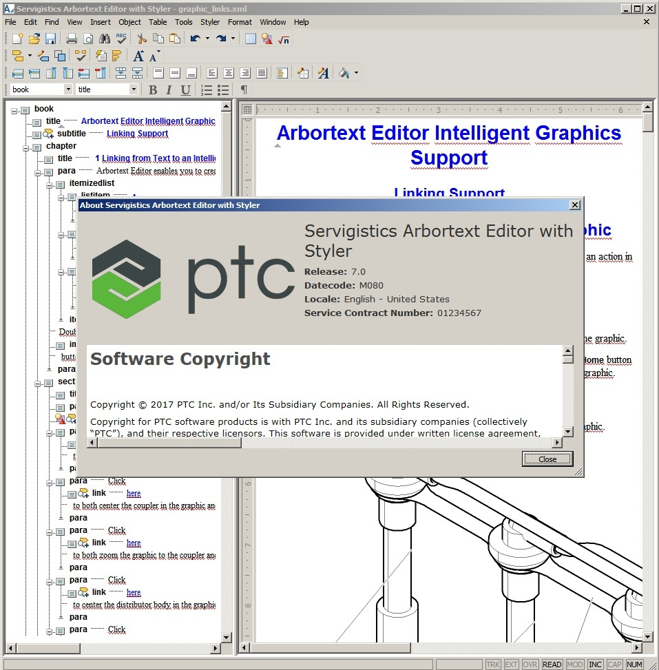 Working with PTC Arbortext Editor 7.0 M080 full crack