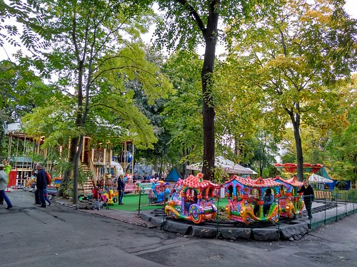 基辅动物园儿童游乐场