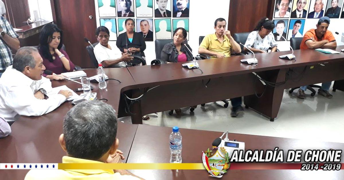 Delegaciones de zona urbana y rural de Chone fueron atendidas