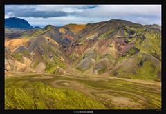 Landmannalaugar valley view
