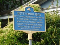 Betty Smith Historic Marker